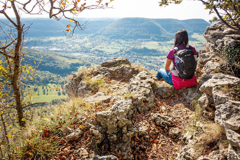 Aussicht vom Teckberg © hochgehberge, Angela Hammer