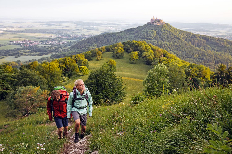 Zollernburg-Panorama am Zeller Horn © Albstadt Tourismus