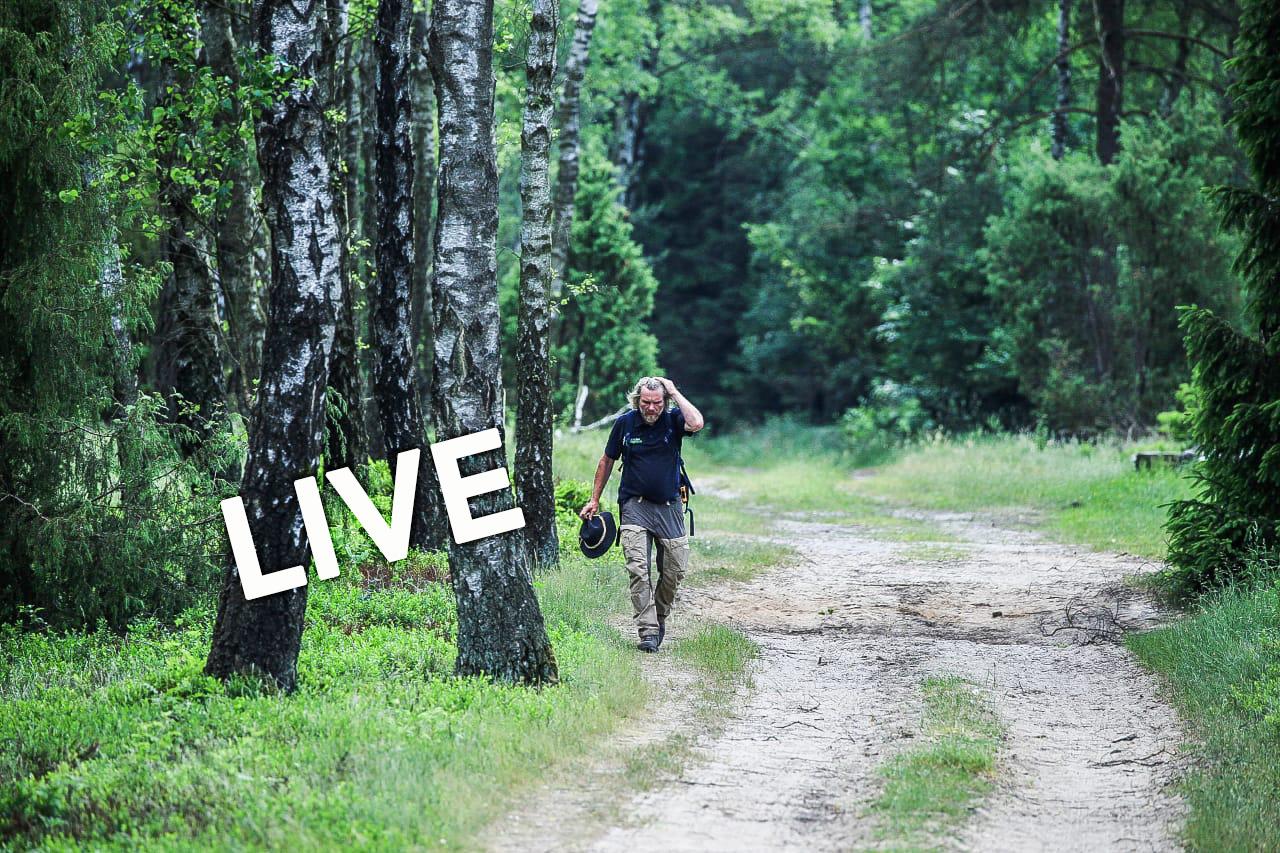 Thorsten Hoyer im Mai 2018 bei einer 300 km Wanderung ohne Schlaf © Dan Mausolf