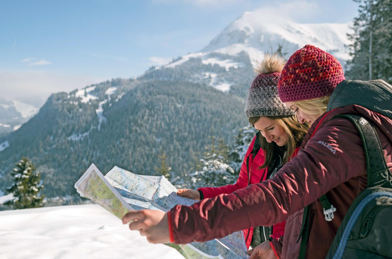 100 km Winter-Wanderwege gibt es in der Naturparkregion Reutte © Jörg Koopmann