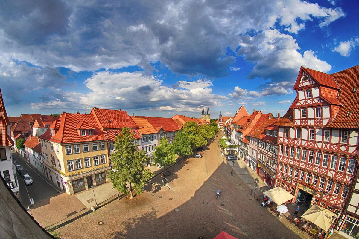 Die historische Altstadt von Duderstadt © Christian Zöpfgen