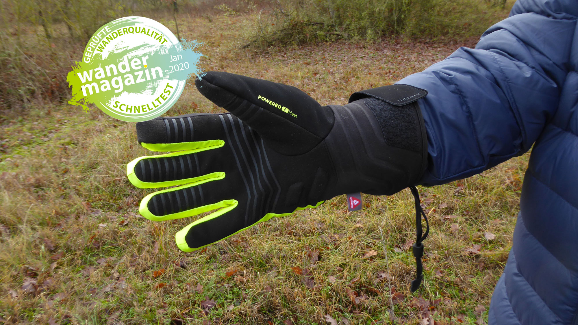 The heat is on! Therm-ic Powergloves Light © U. Poller / W. Todt