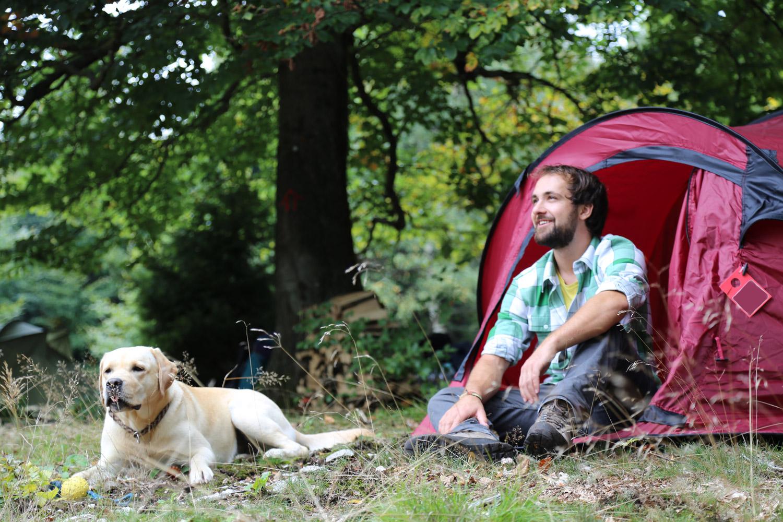 Zelten am Soonwaldsteig beide Fotos: © Naturpark Soonwald-Naheland e.V.