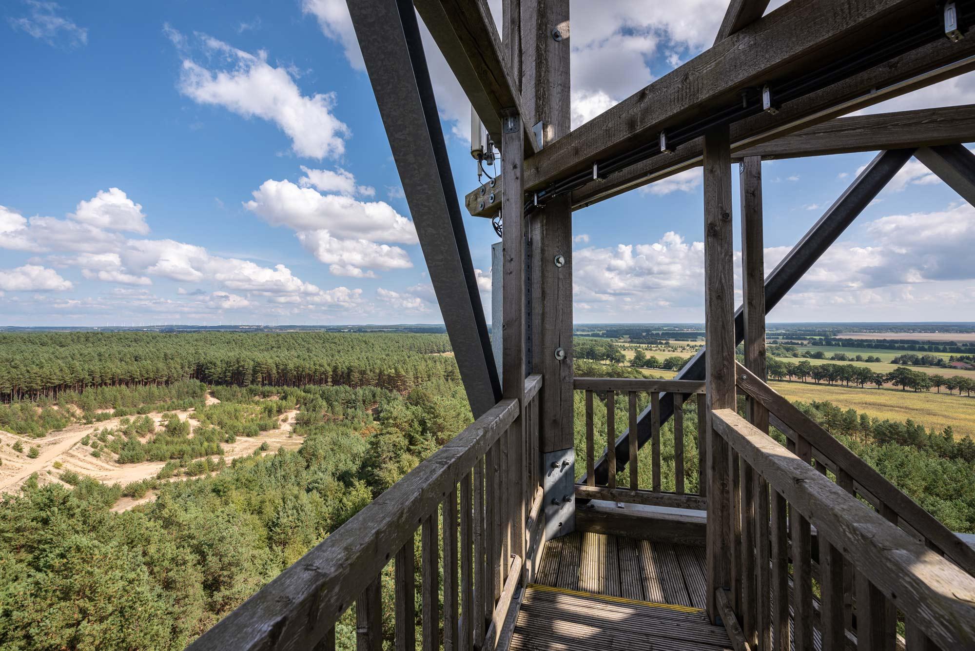 Blick vom Aussichtsturm Blumenthal © Markus Tiemann