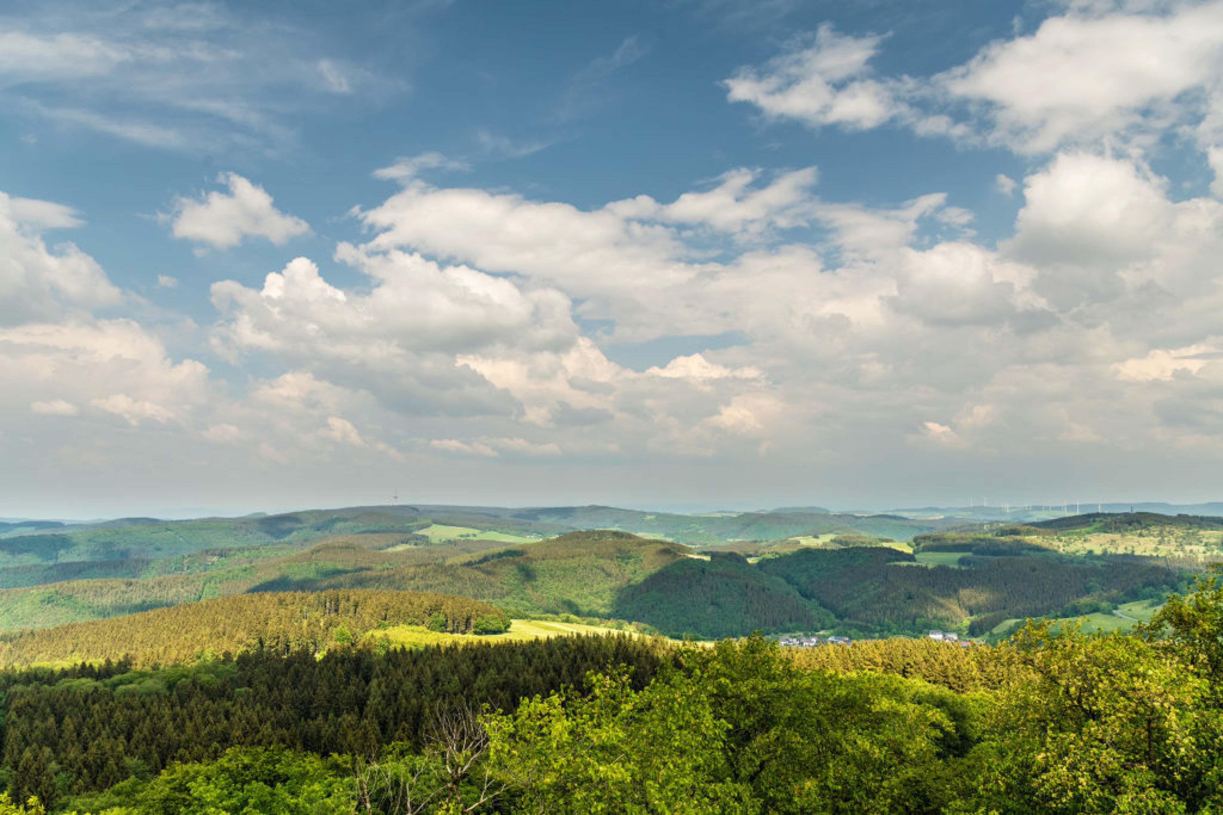 Aussicht vom Kaiser-Wilhelm-Turm © Rheinland-Pfalz Tourismus GmbH, Dominik Ketz