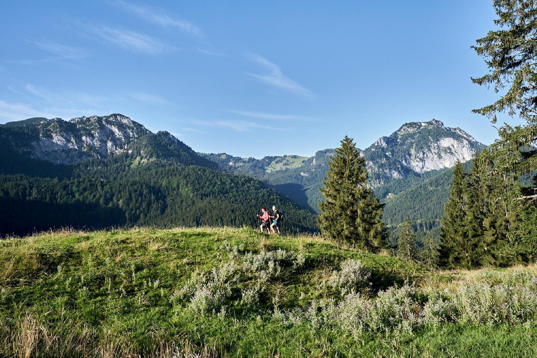 Aktiv unterwegs im Mangfallgebirge © Photo-Montana