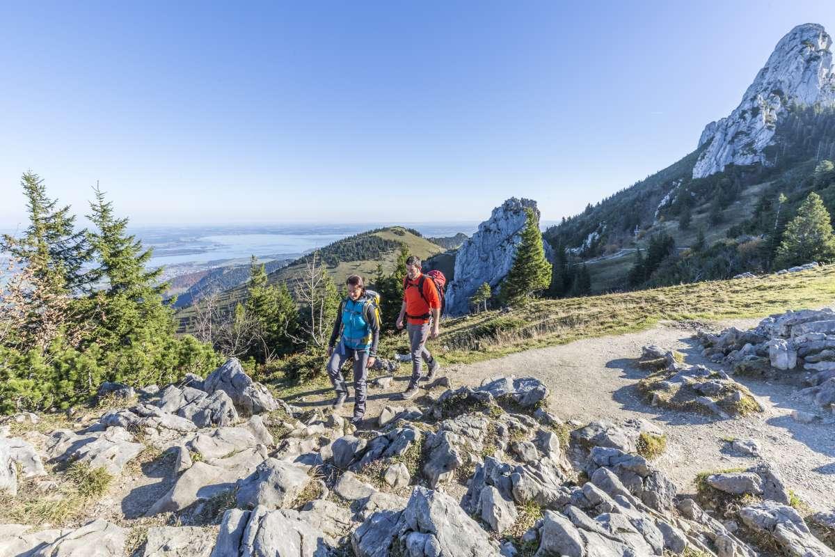 Das Bayerische Meer im Blick © Chiemsee-Alpenland Tourismus