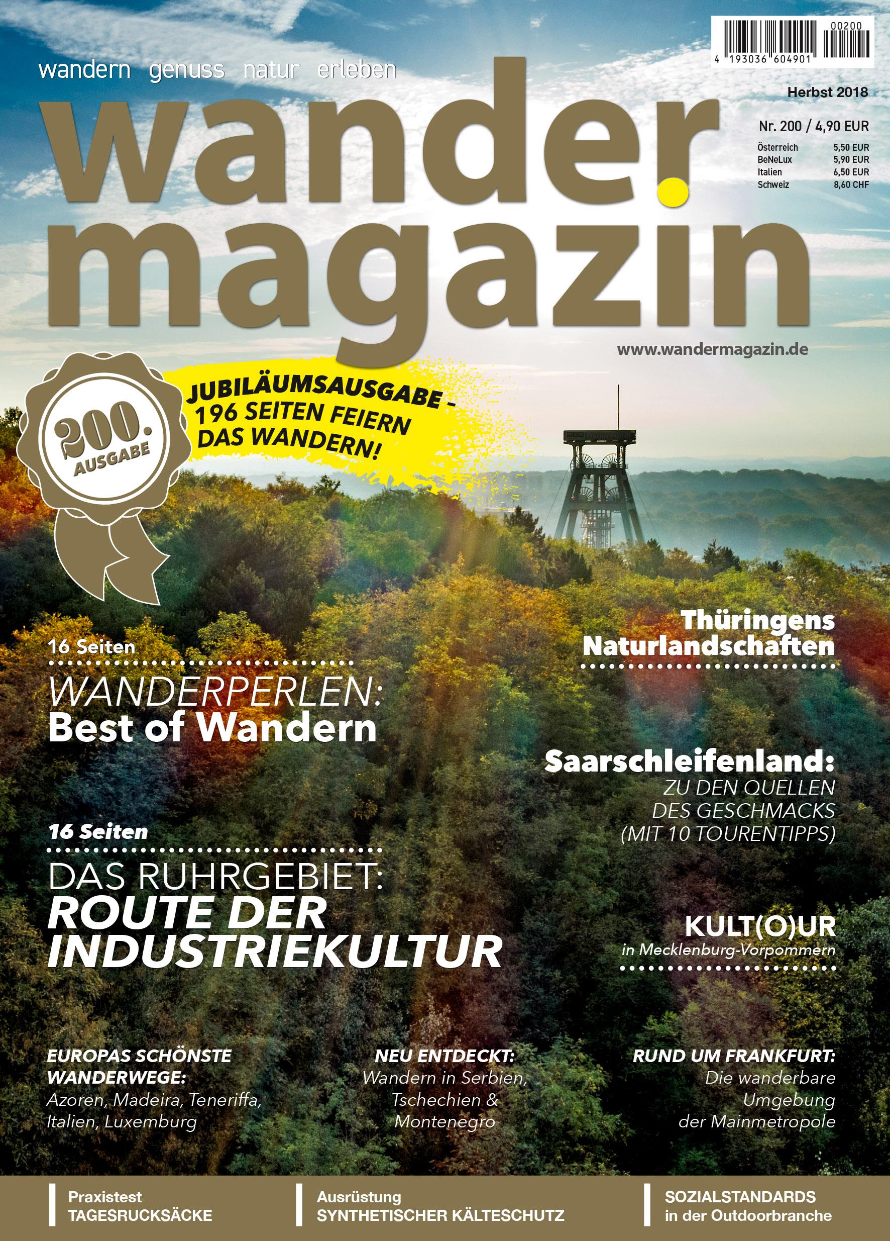 Titelseite 200 (Herbst 2018) 200