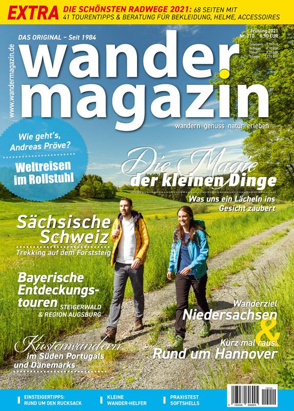 Titelseite 210 (Frühling 2021) 210