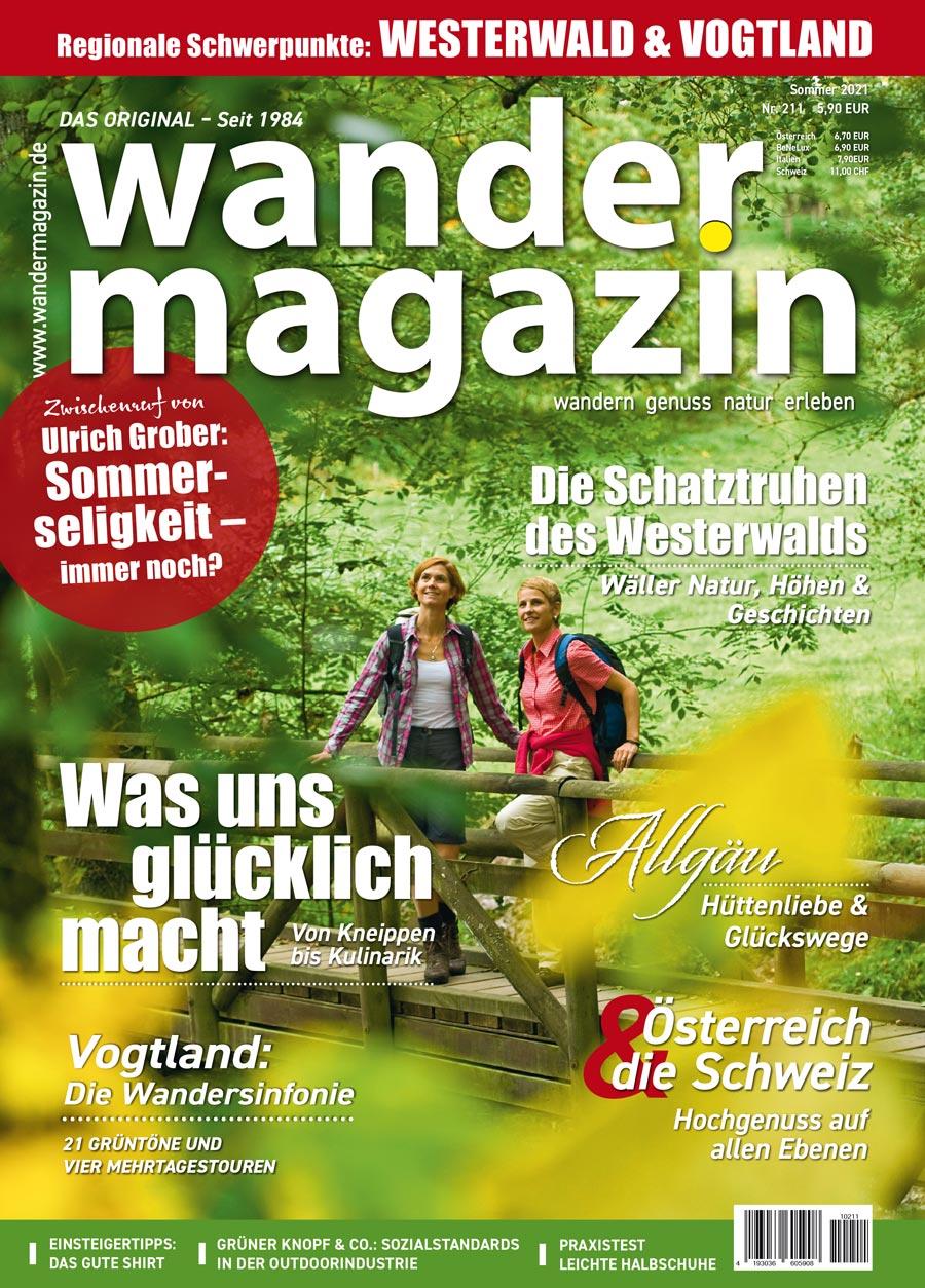Titelseite 211 (Sommer 2021) 211