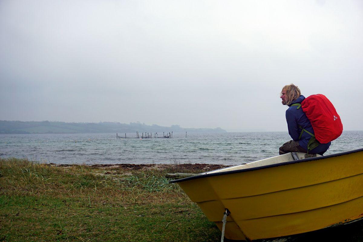 Der Gendarmenpfad ist ein Küstenwanderweg ohne Wenn und Aber – Ostseewasser ist ständiger Begleiter © Thorsten Hoyer