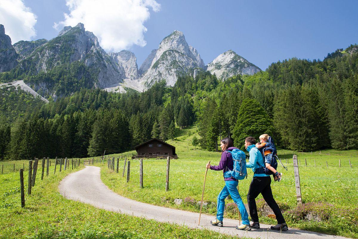 Familenwandern im Dachstein Salzkammergut © Best of Wandern, Thomas Bichler