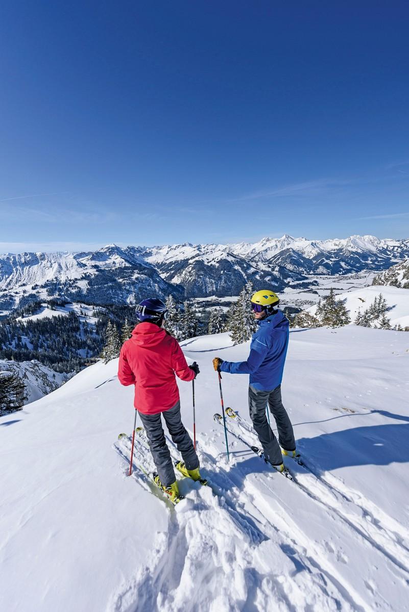 Pistenspaß in sechs Skigebieten. © Wolfgang Ehn