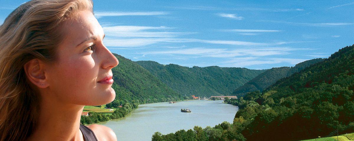 Blick auf das Donautal © Tourist-Information Passauer Land