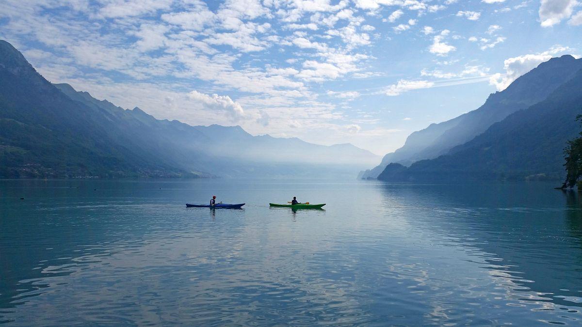 Mit allen Sinnen die Stille genießen © Hightide Kayak School, Bönigen