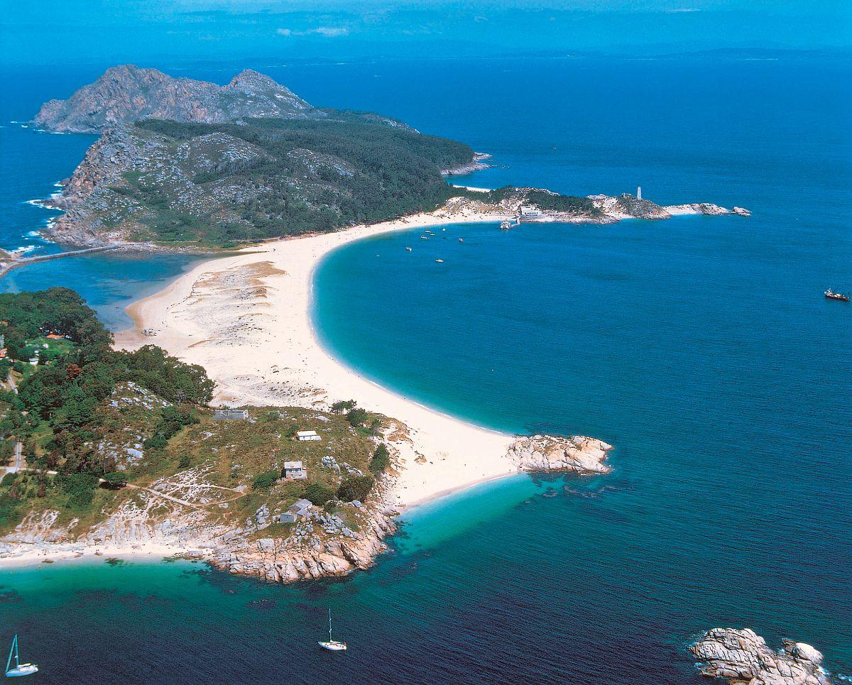 Die Inseln Illas Cíes (Galicien) © Turgalicia