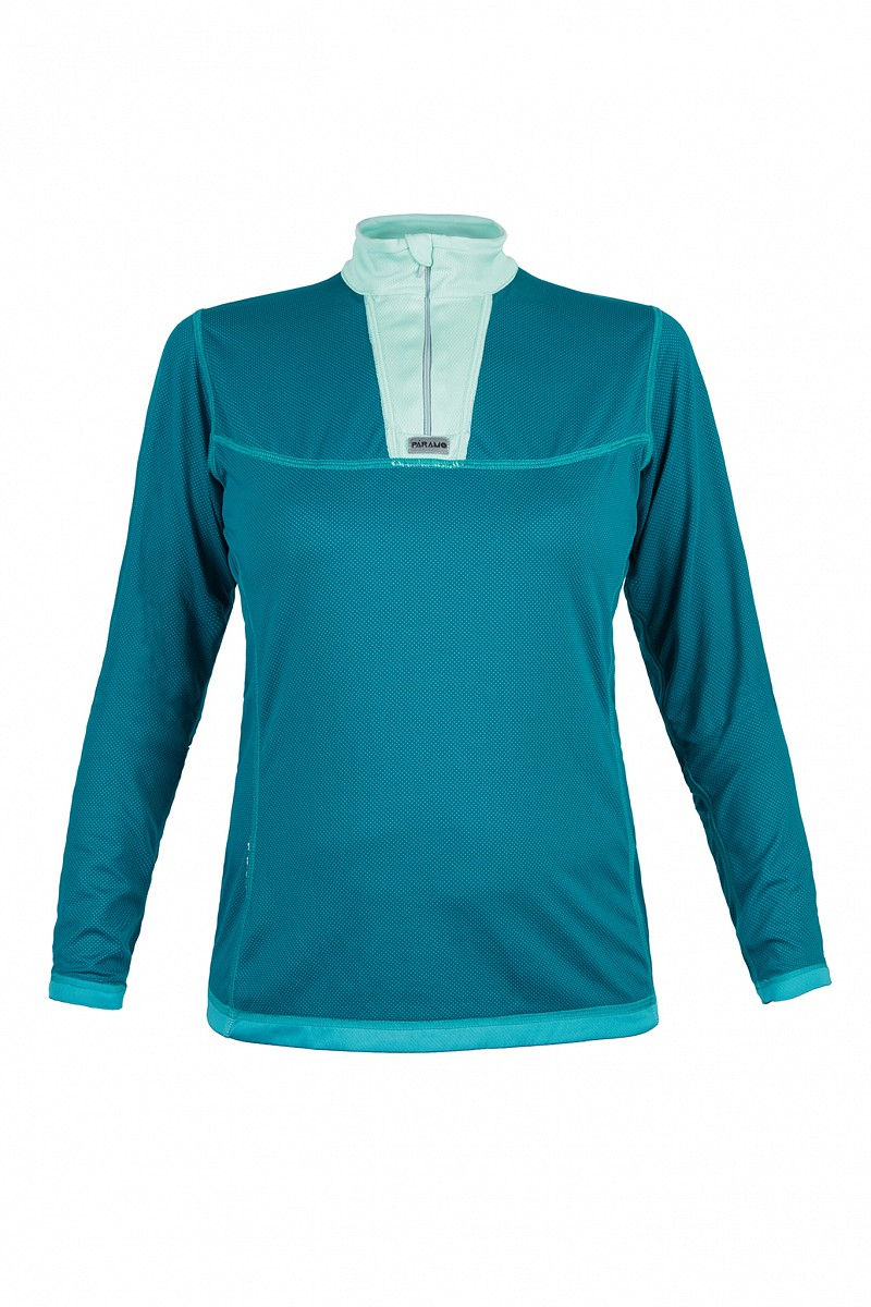 Long sleeve Men's / Women's Cambia Zip Neck © Páramo
