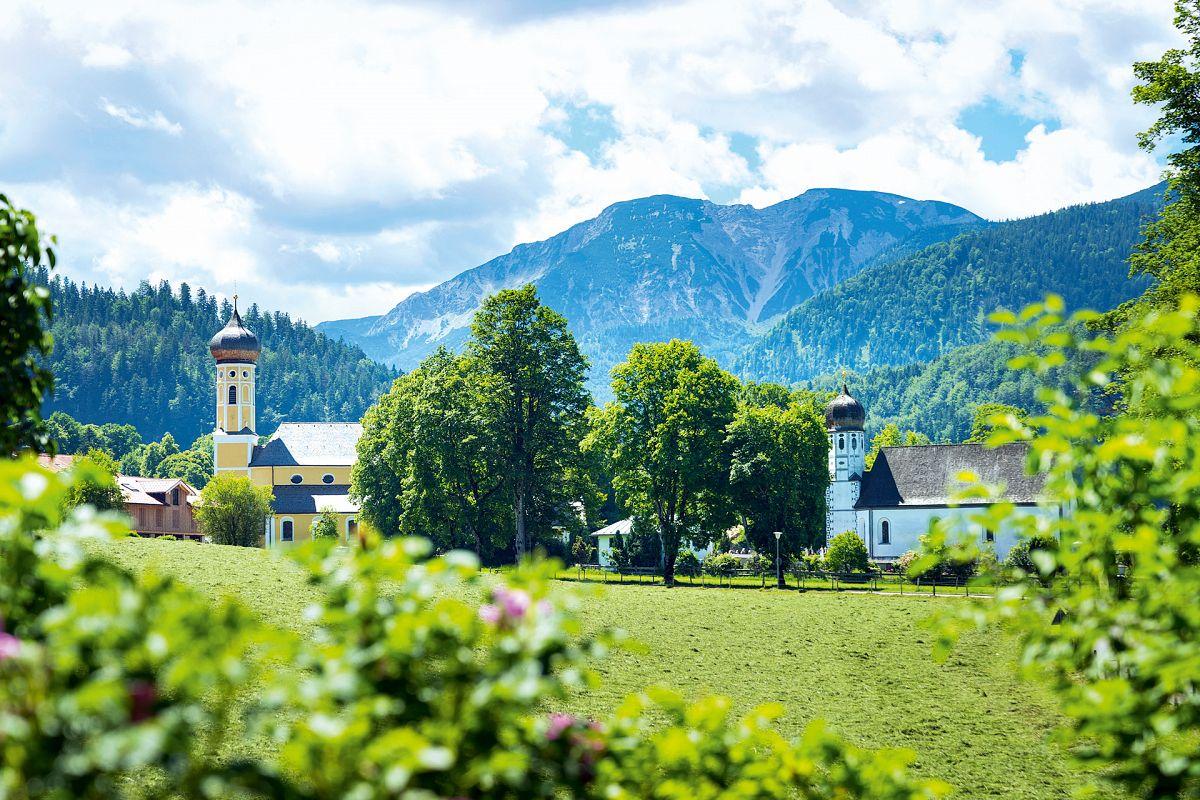 Bayerisches Voralpenidyll in Fischbachau © Dietmar Denger