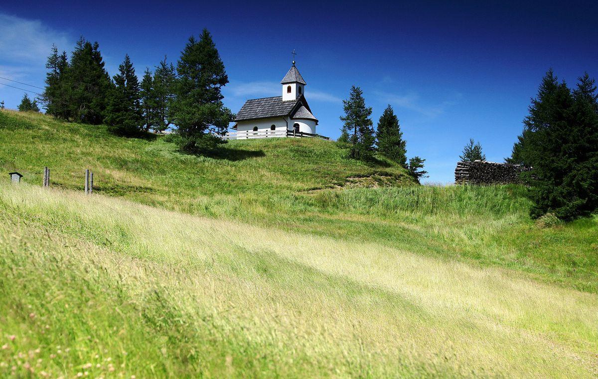 Kapelle an der Gamskogelhütte am Herzerlweg © Tourismusregion Katschberg-Rennweg
