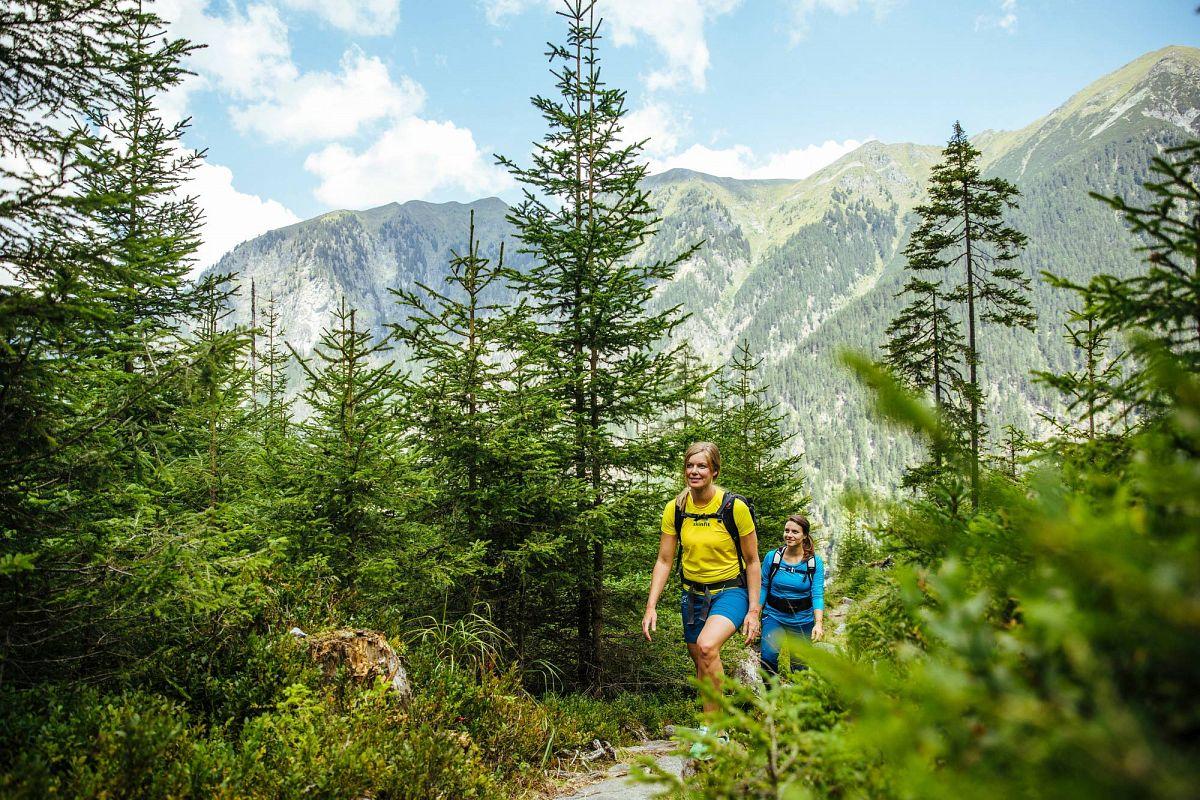 Wald und Berge im SalzburgerLand ©SalzburgerLand Tourismus GmbH