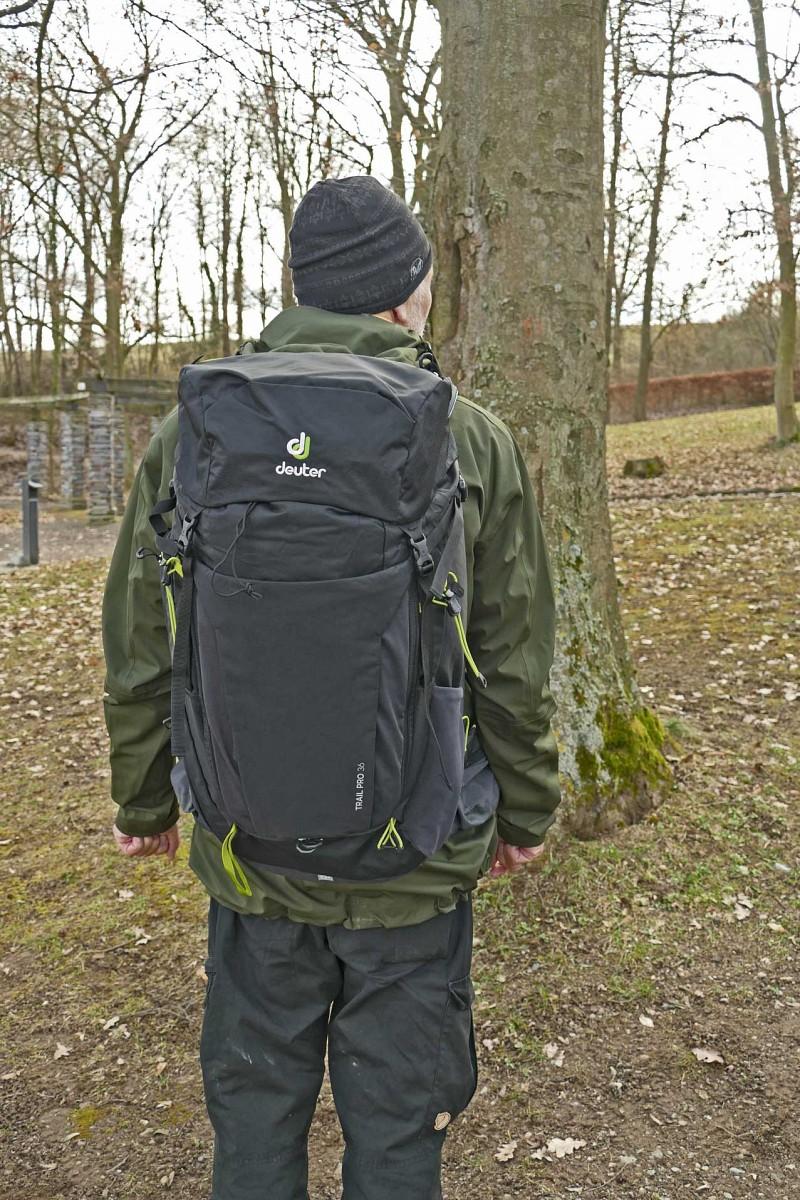 Testsieger Deuter Trail Pro © U. Poller/ W. Todt
