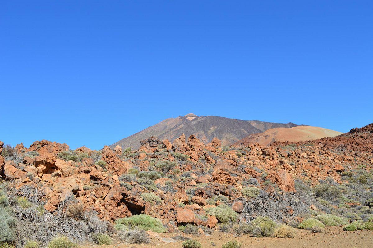 In der Caldera rund um den Teide © S. Pries