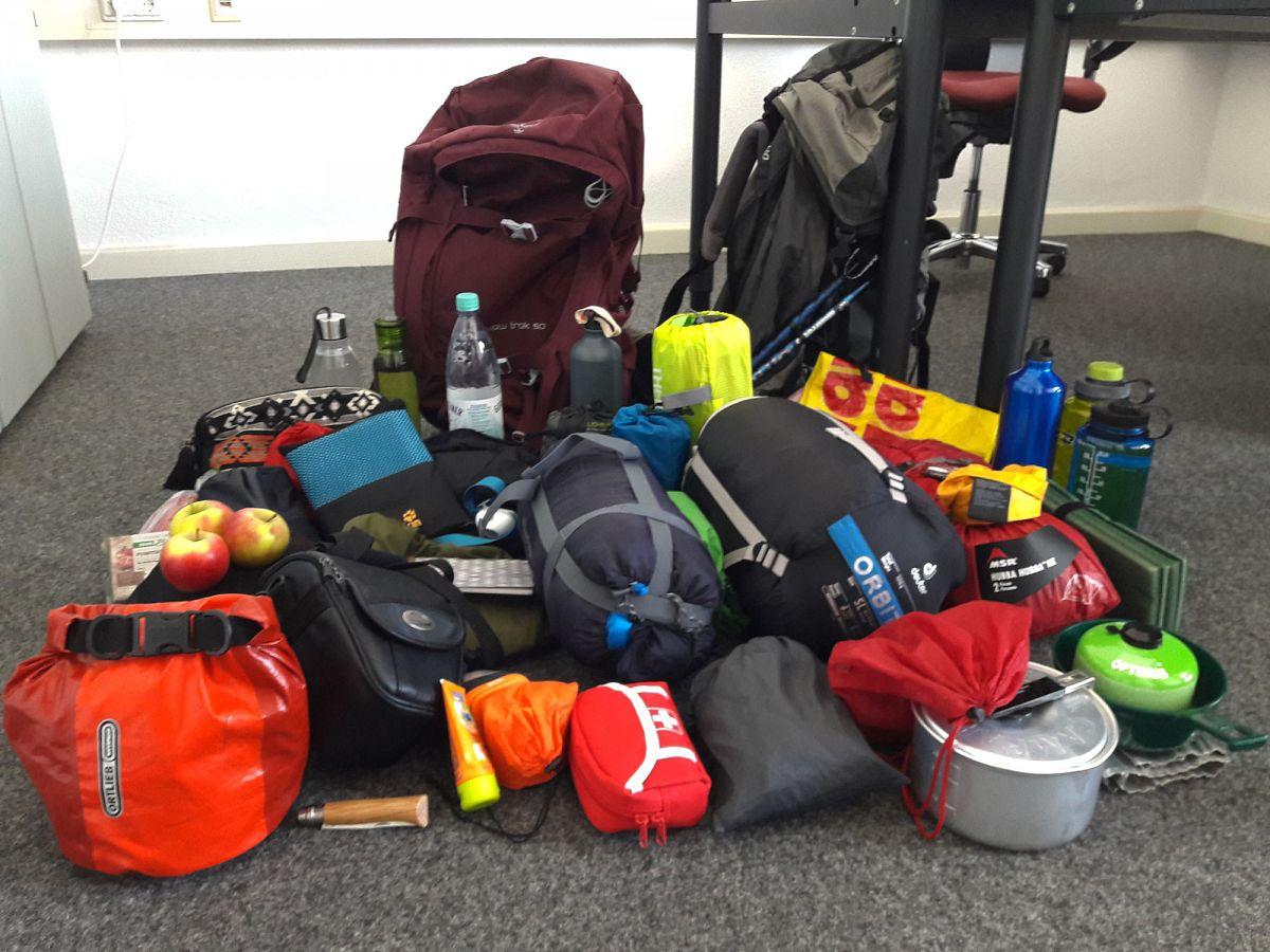 Ich packe meinen Rucksack und nehme mit ... © Svenja Walter