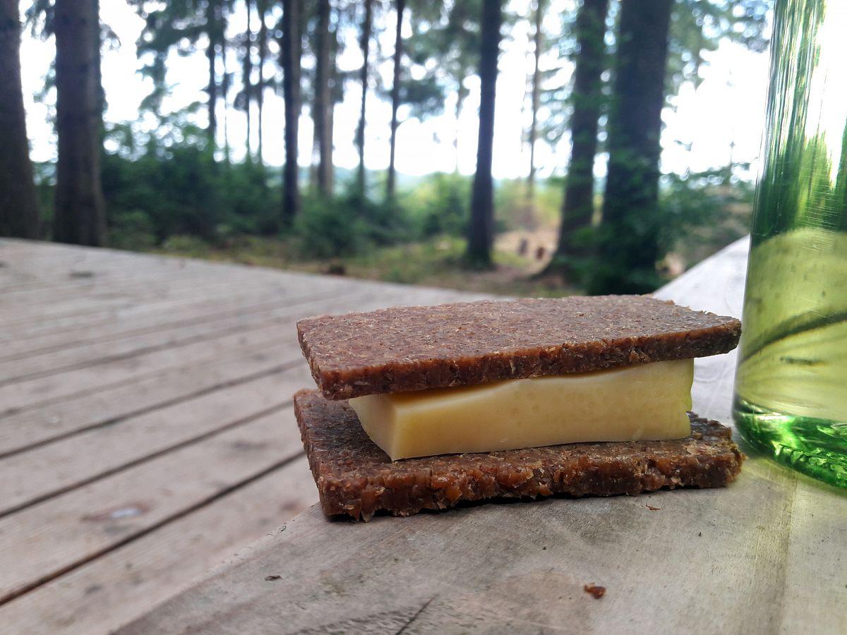 Das ultimative Sandwich auf Wanderungen © Svenja Walter