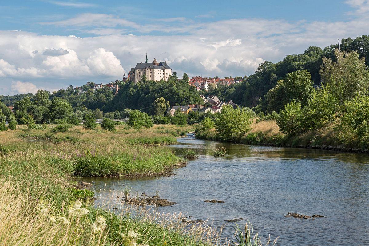 Burg Mildenstein am Muldental-Wanderweg © PUNCTUM, Peter Franke
