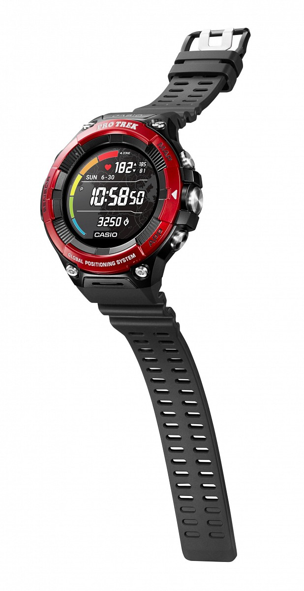 PRO TREK Smart WSD-F21HR-RD © Casio