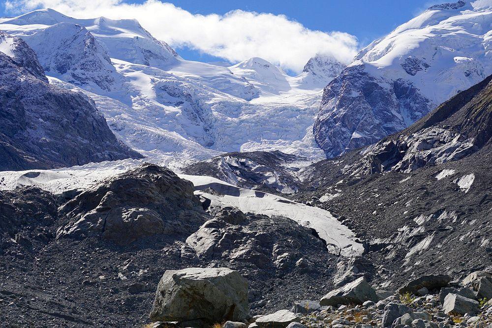 Der Morteratschgletscher in der Schweiz 2016 © Pixabay