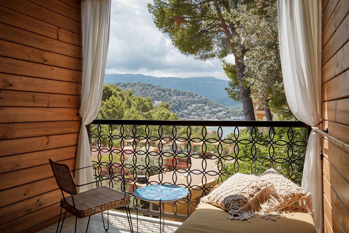 Aussicht vom Balkon © bikinihotel Port de Sóller