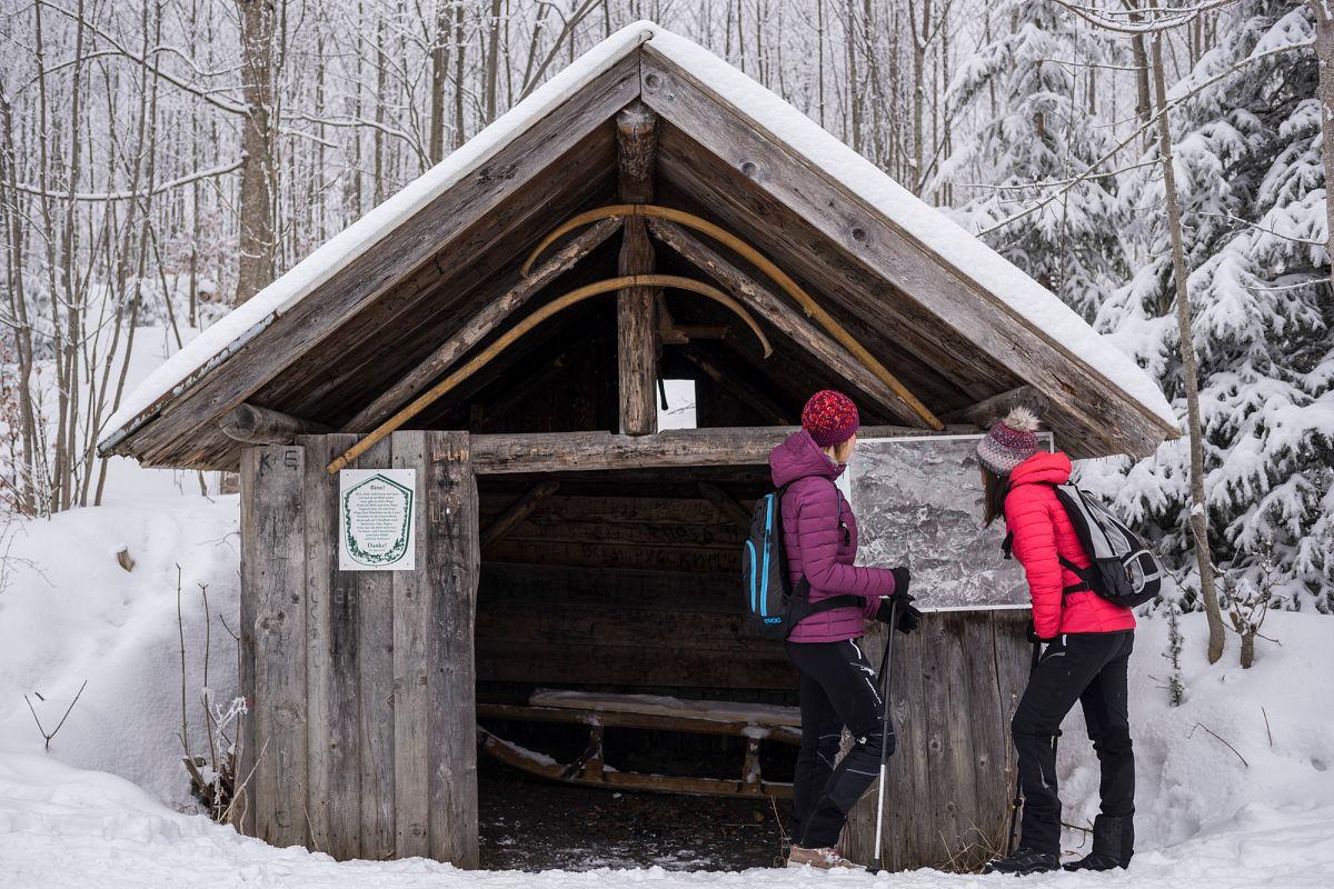 Winterwandern in der Naturparkregion Reutte © Tirol Werbung, Peter Neusser