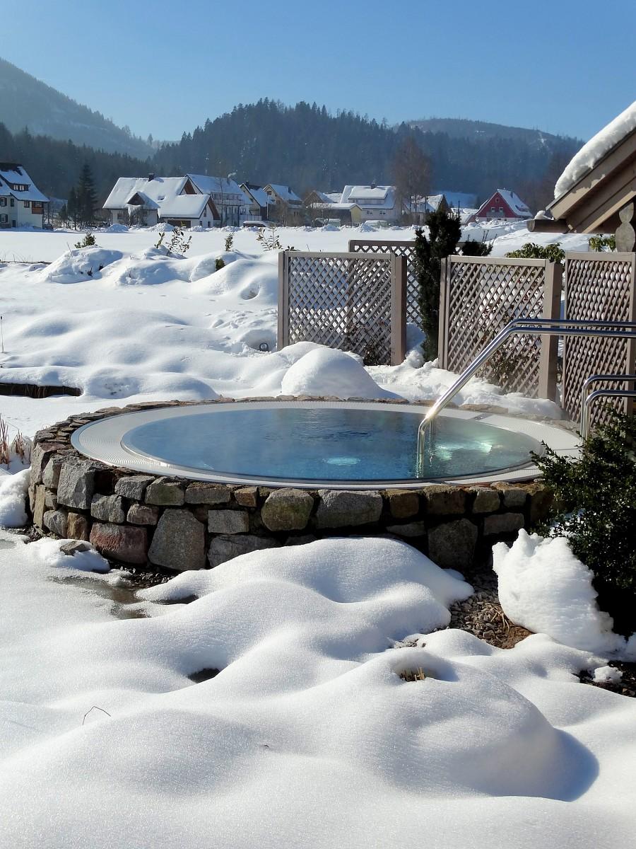 Outdoor Wellness © Hotel Engel Obertal