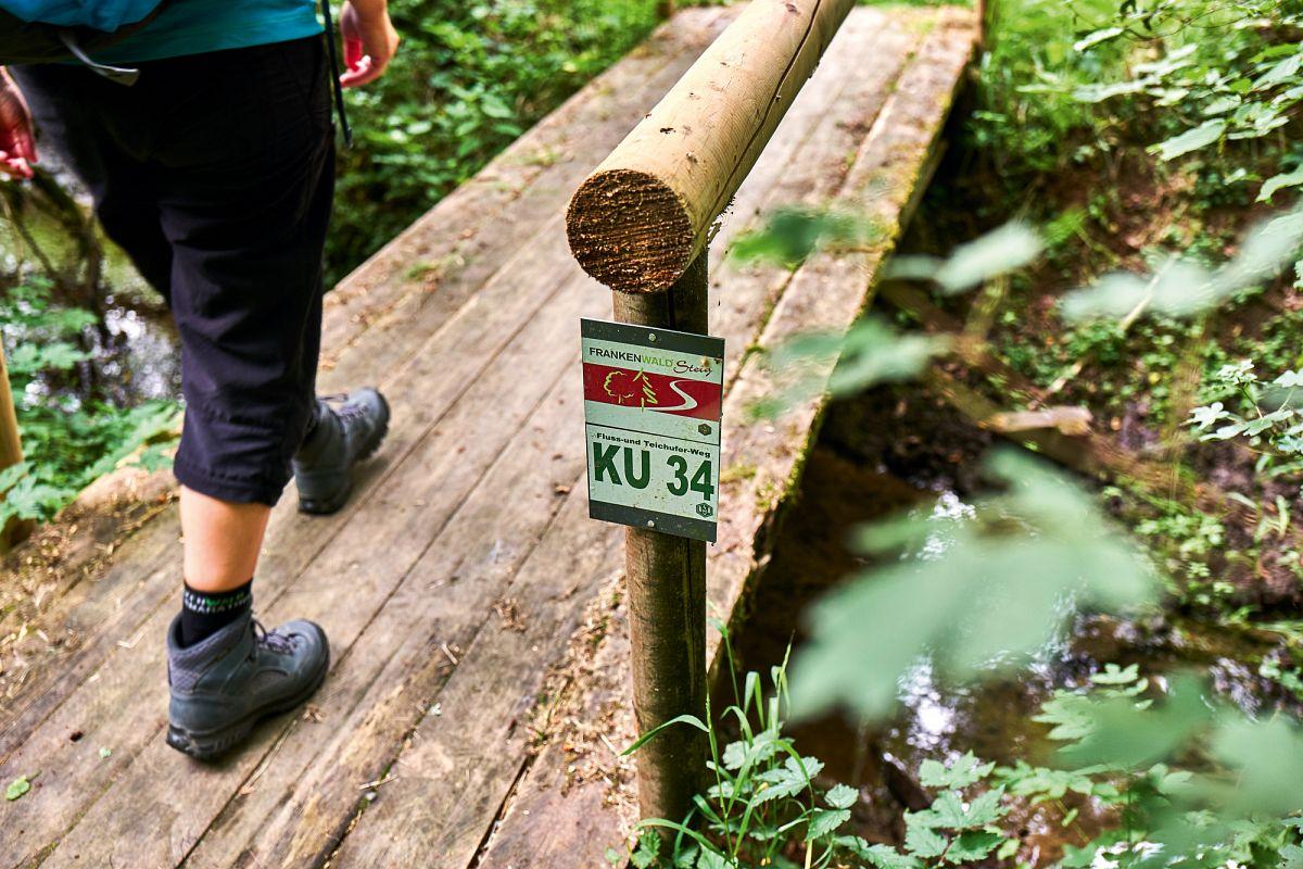 Wandern auf dem FrankenwaldSteig © Frankenwald Tourismus, Marco Felgenhauer