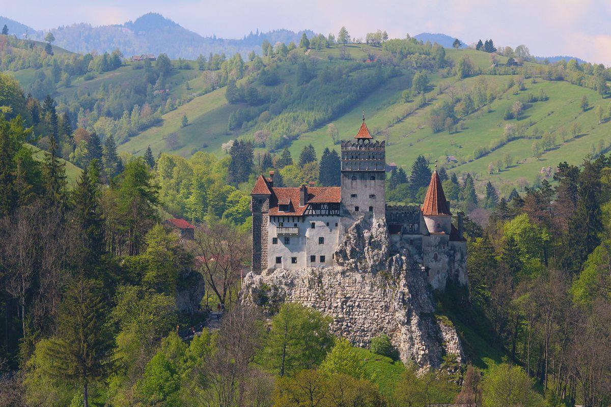 Die eindrucksvolle Burg Bran, das Dracula-Schloss.