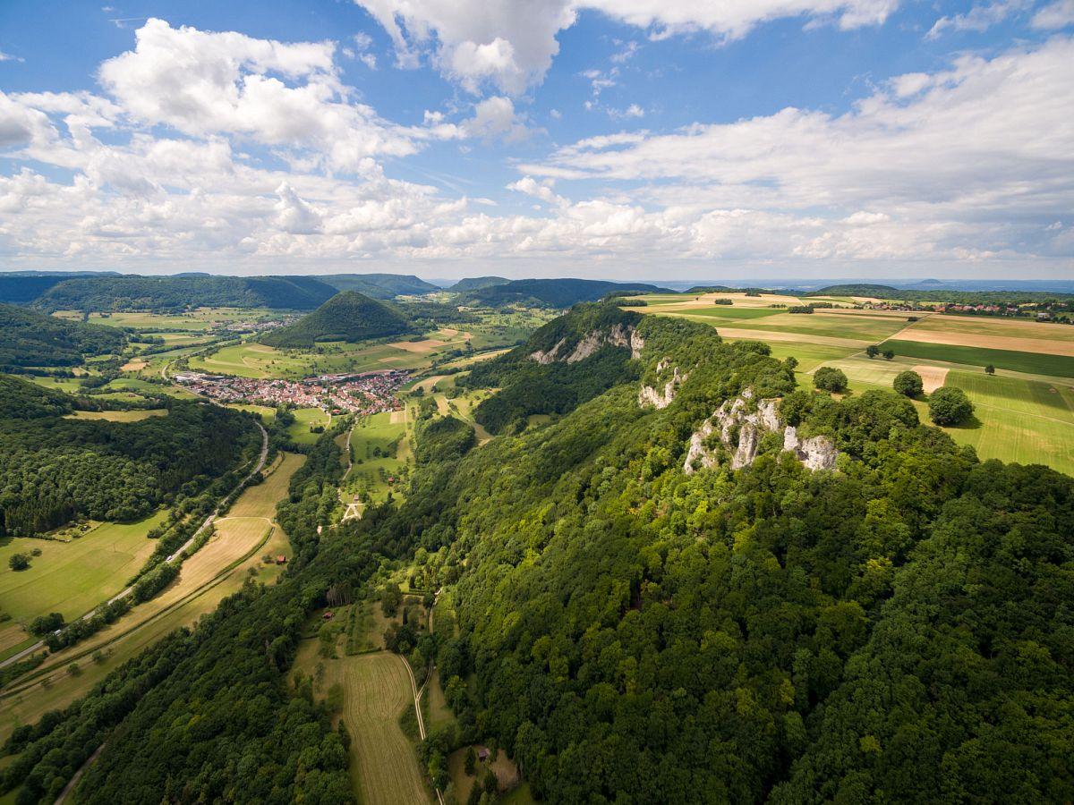 Blick ins Obere Filstal bei Bad Überkingen © Landkreis Göppingen