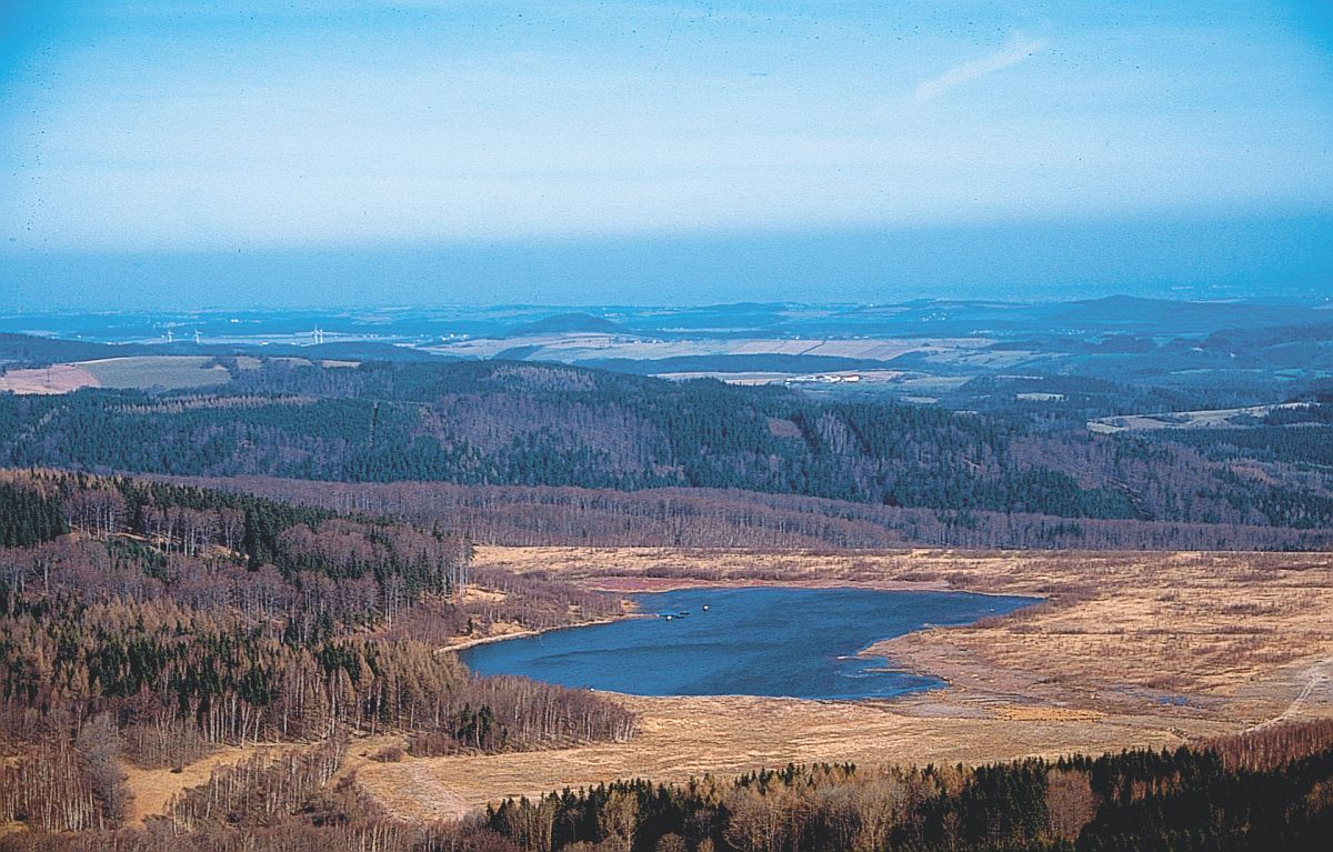 Blick vom Geisingberg nach Norden