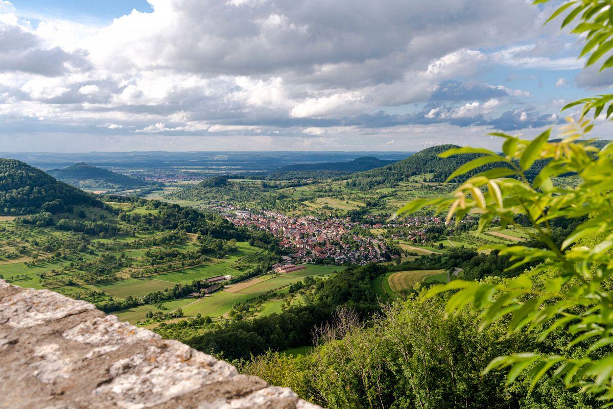 Wunderschöne Aussicht über die Alb © TMBW, G. Lengler