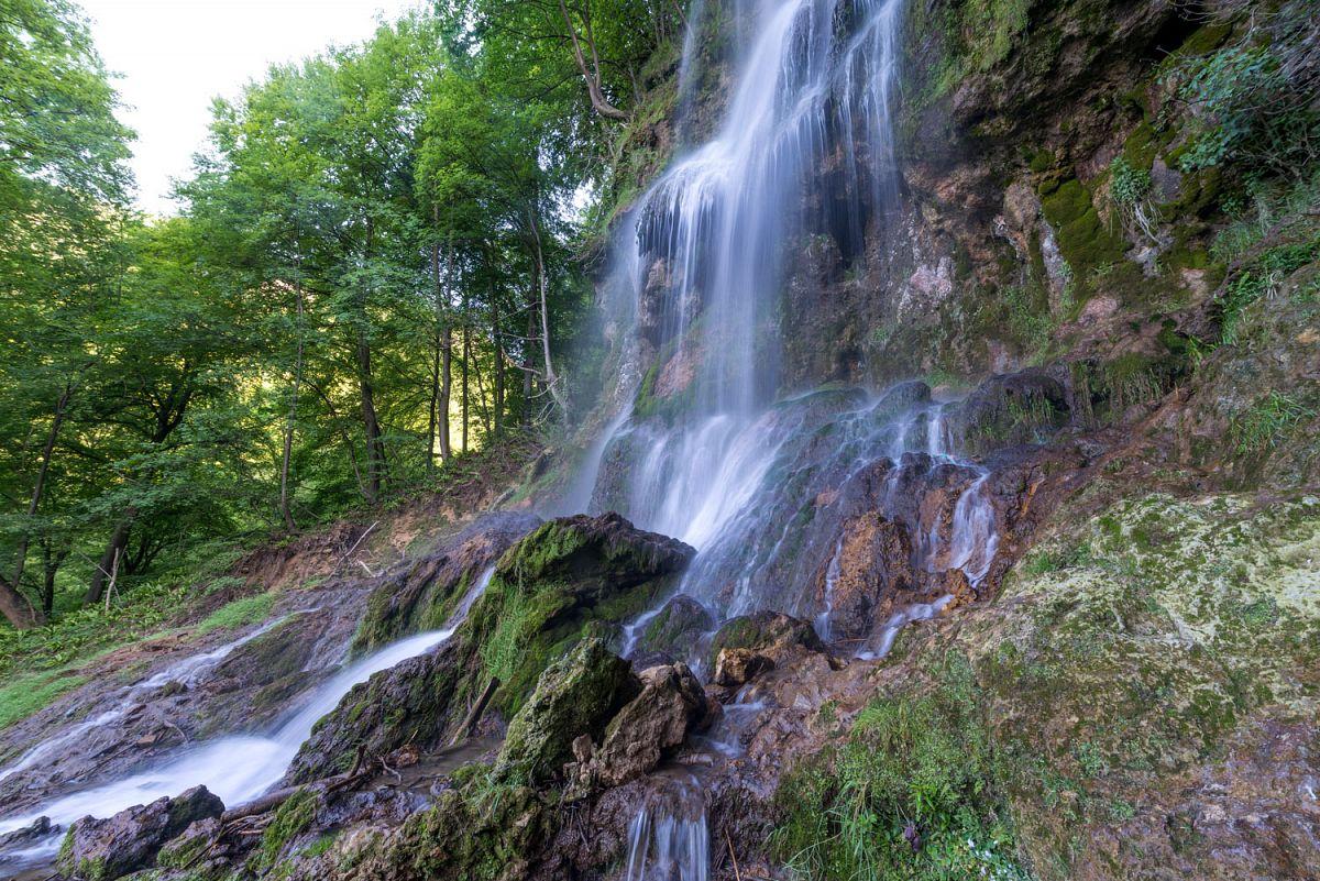 Am Uracher Wasserfall © TMBW, G. Lengler