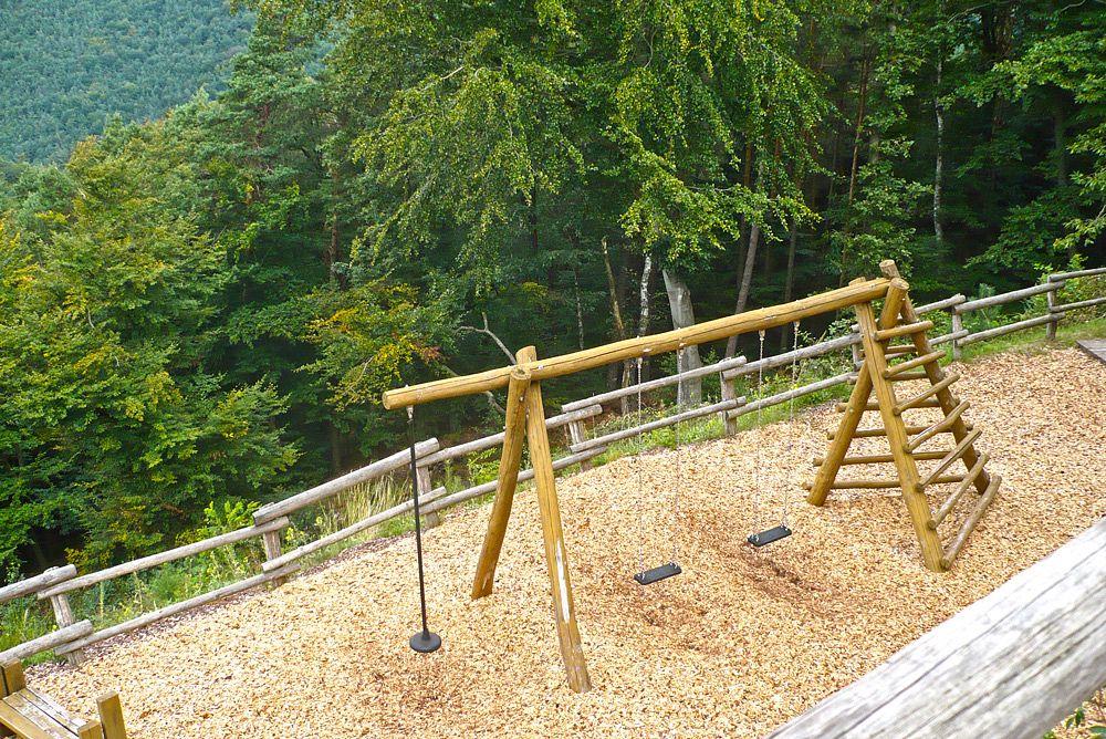 Die Schaukel an der Jungpfalzhütte © Verein-SÜW-Annweiler