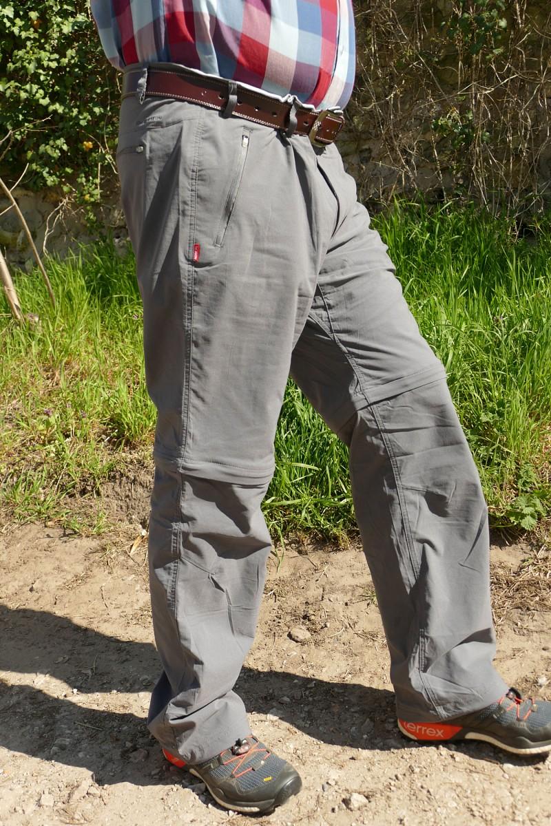 Einer der Testsieger: Craghoppers Nosilife Pro Convertible Hose © U.Poller/ W. Todt