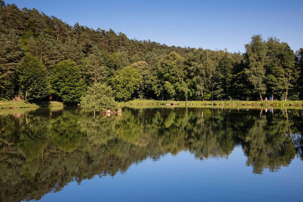 An den Aubachseen in Habichsthal © Tourismusverband Spessart-Mainland e.V. / Holger Leue
