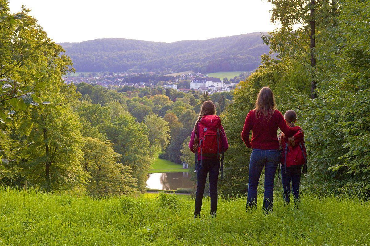 Ausblick auf den Gräflichen Park Bad Driburg