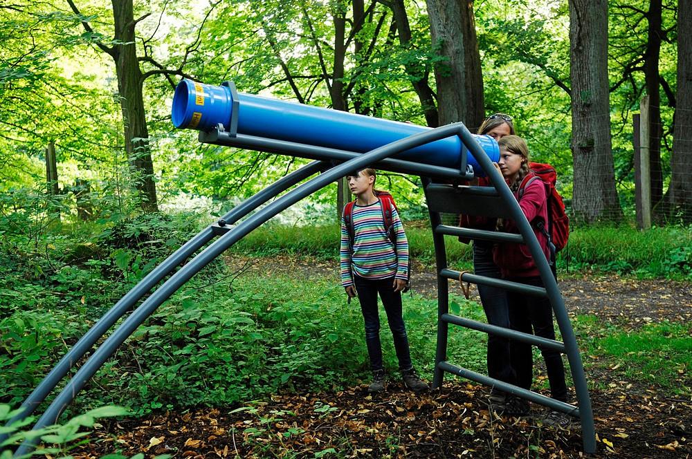 Auf dem Kaleidoskopweg sieht man die Welt mit anderen Augen. Fotos © Bad Driburger Touristik GmbH