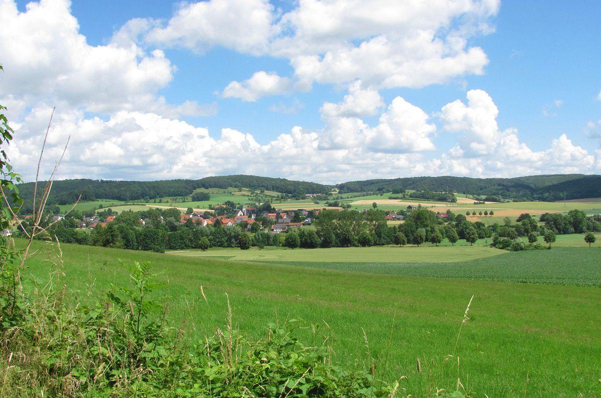 Blick Richtung Alhausen