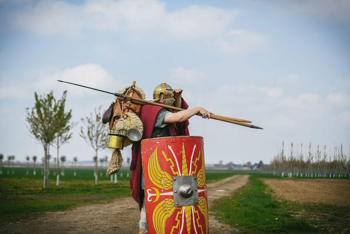 Dem Römerkanal auf der Spur © Andrea Matzner