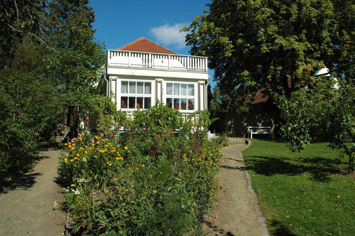 Das ehemalige Wohnhaus des Schriftstellers beherbergt heute das Hans-Fallada-Museum © R. Mittermüller