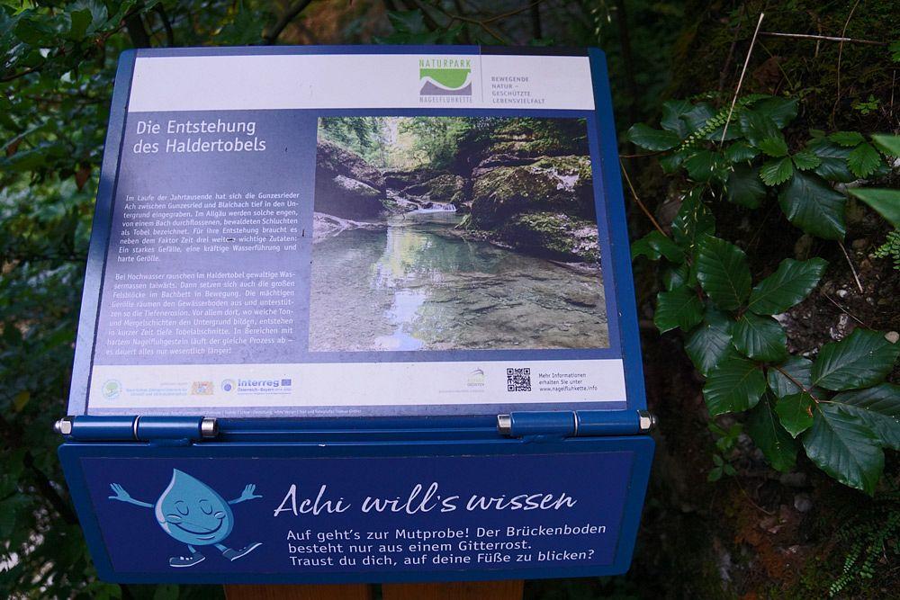 Achi berichtet vom Leben im und am Fluss © Tourist-Info Blaichach