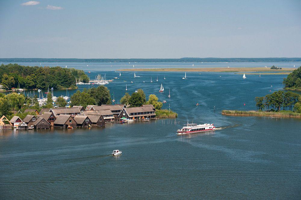 Ein Blick auf die Müritz, Deutschlands größten Binnensee ©www.1000seen.de, Christin Drühl